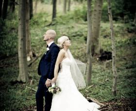 portræt foto bryllup