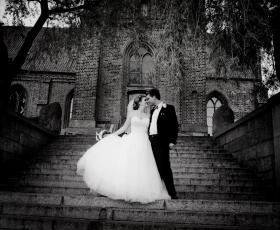 En profesjonell og dyktig bryllupsfotograf