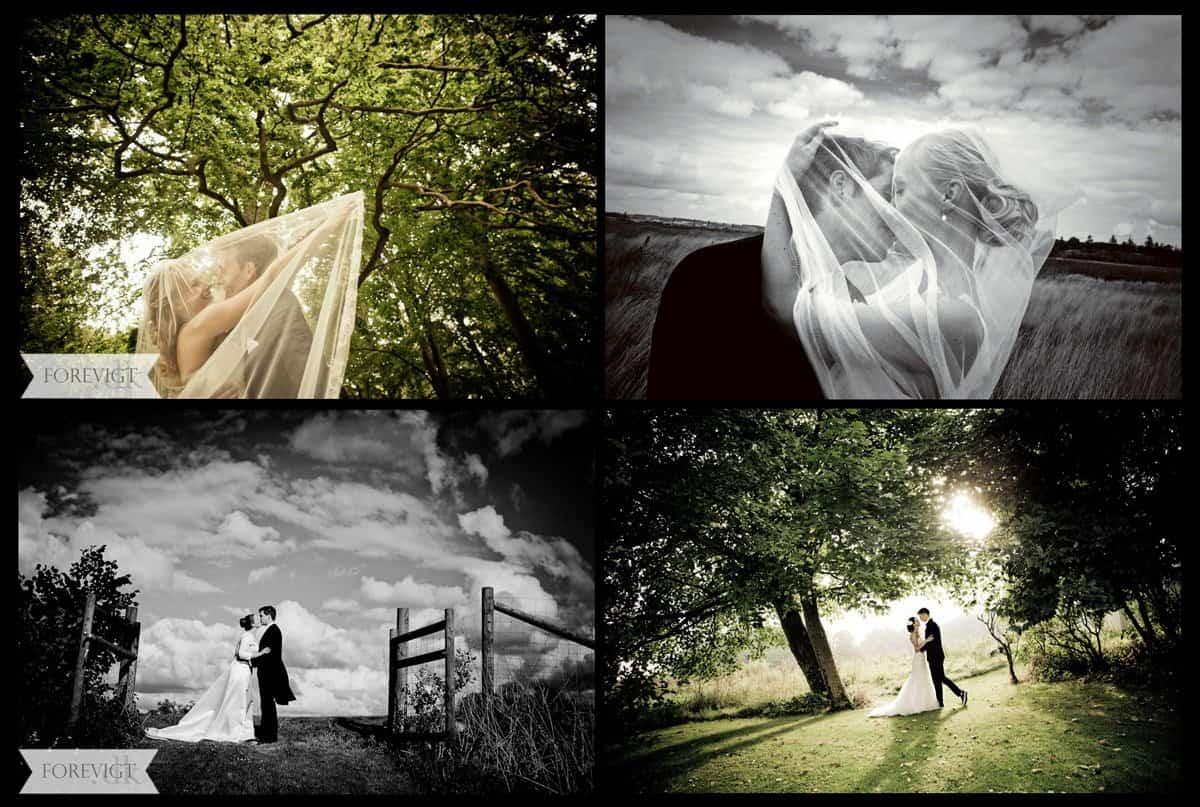 Bryllupsfotografering i Sønderjylland