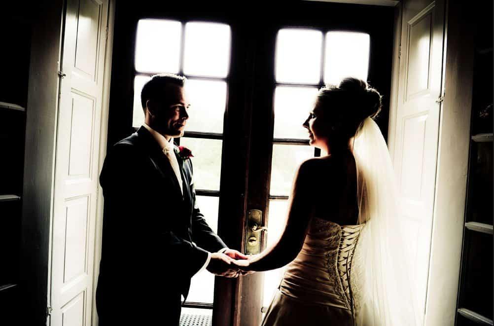fotograf borgerligt bryllup