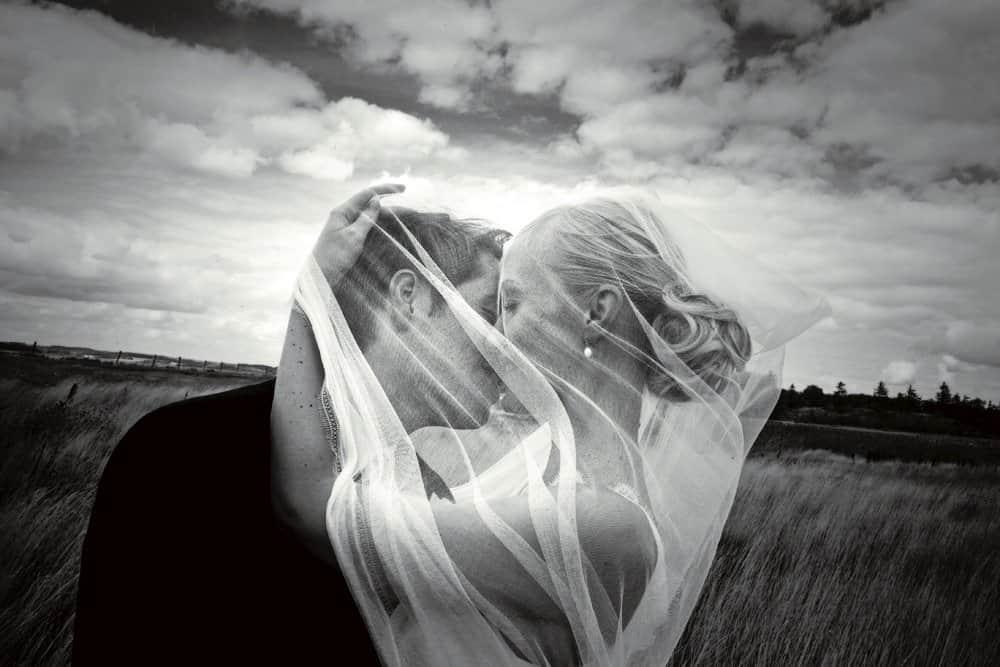 bryllupsfotograf østjyllan