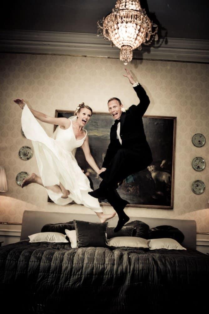 Bryllupsfotografer med en Twist