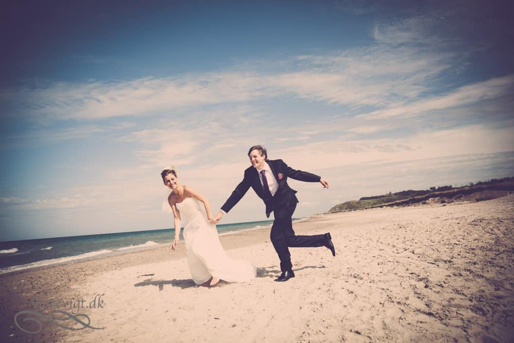 ved Ballebro Færgekro bryllup