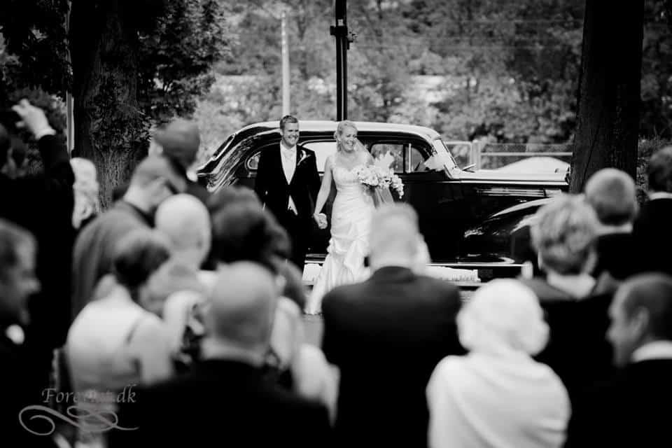 bryllup i hornbæk kirke