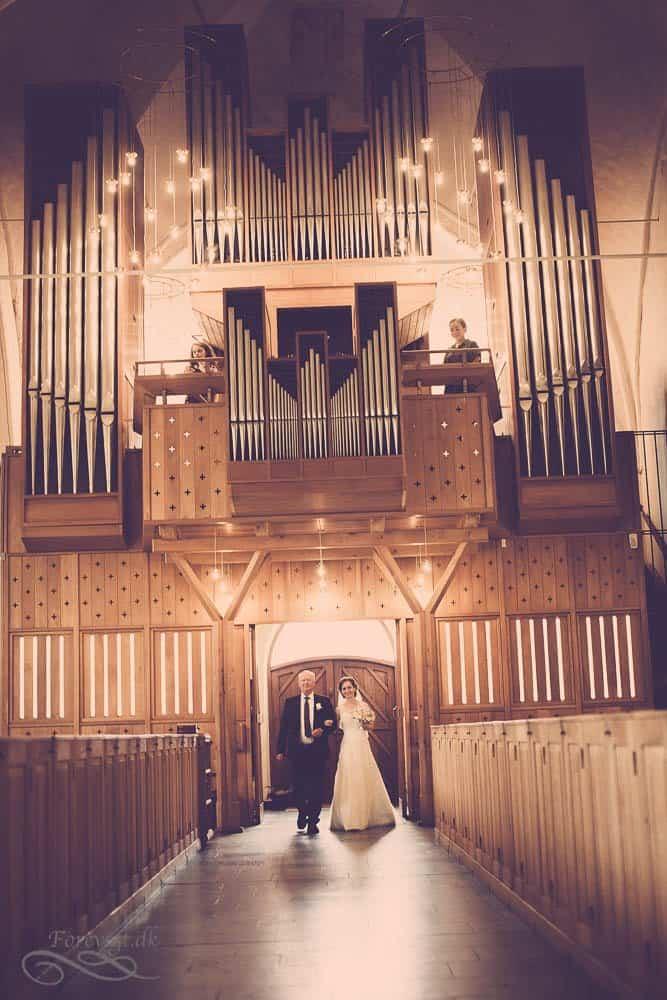 Orgel Vor Frue Kirke i Aarhus C