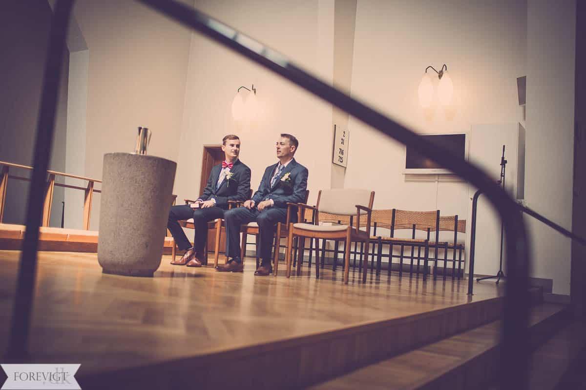 Christianskirken bryllup