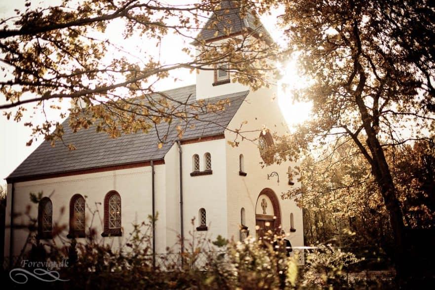 Bryllup Børsmose kirke ved Grærup