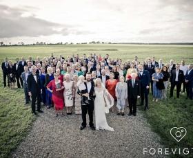 kongefoto bryllup