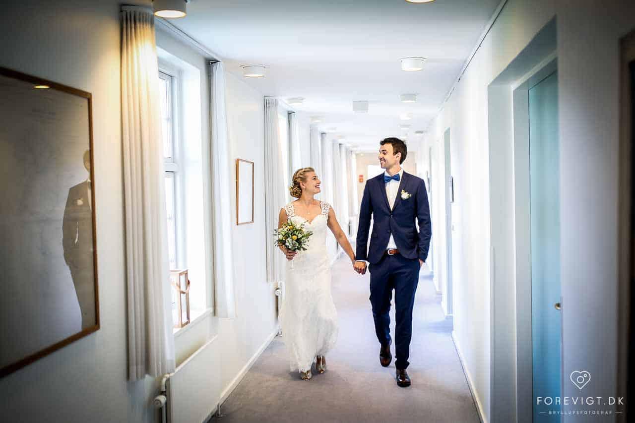 Bryllup på Skarrildhus syd for Herning