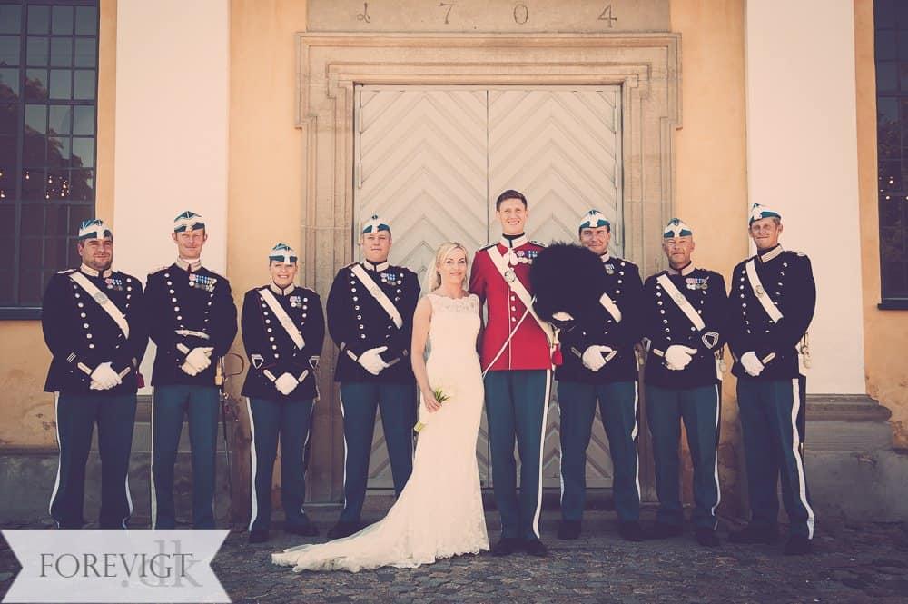 Kastellet København bryllup