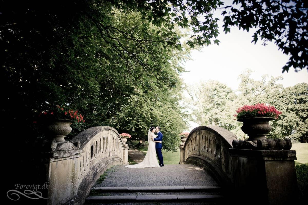 Aldershvile slotspark bryllup