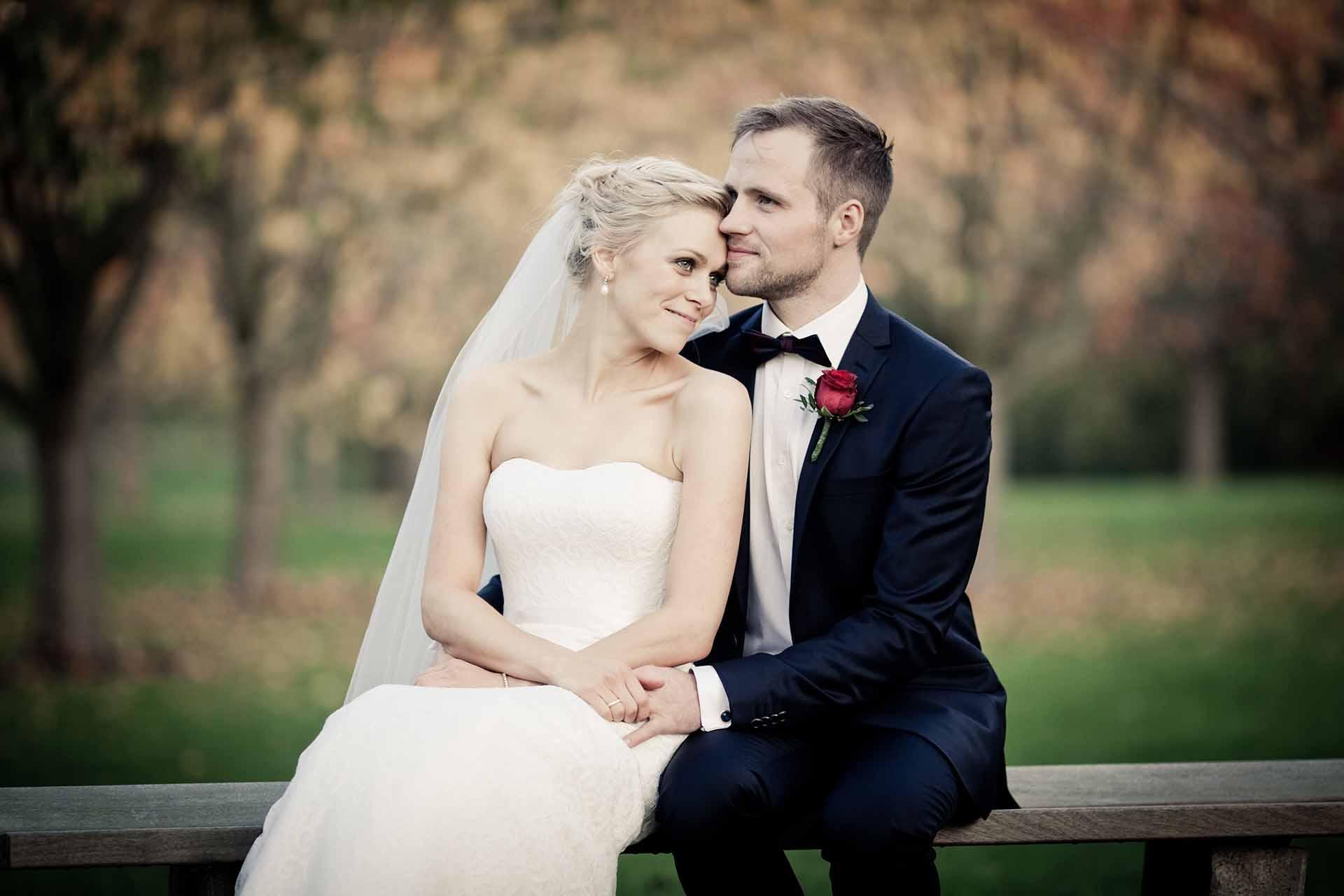 Professionel fotograf til jeres bryllup