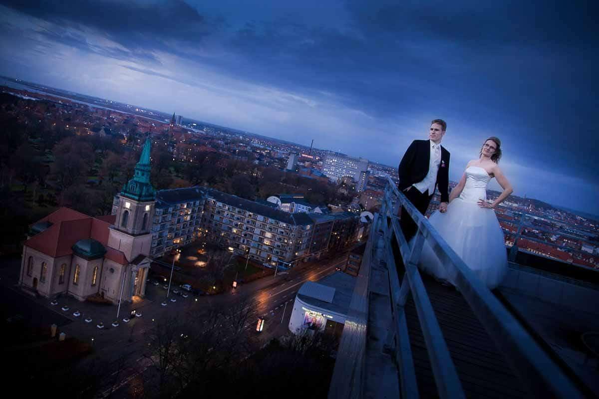 Bryllupsbilleder i urban style