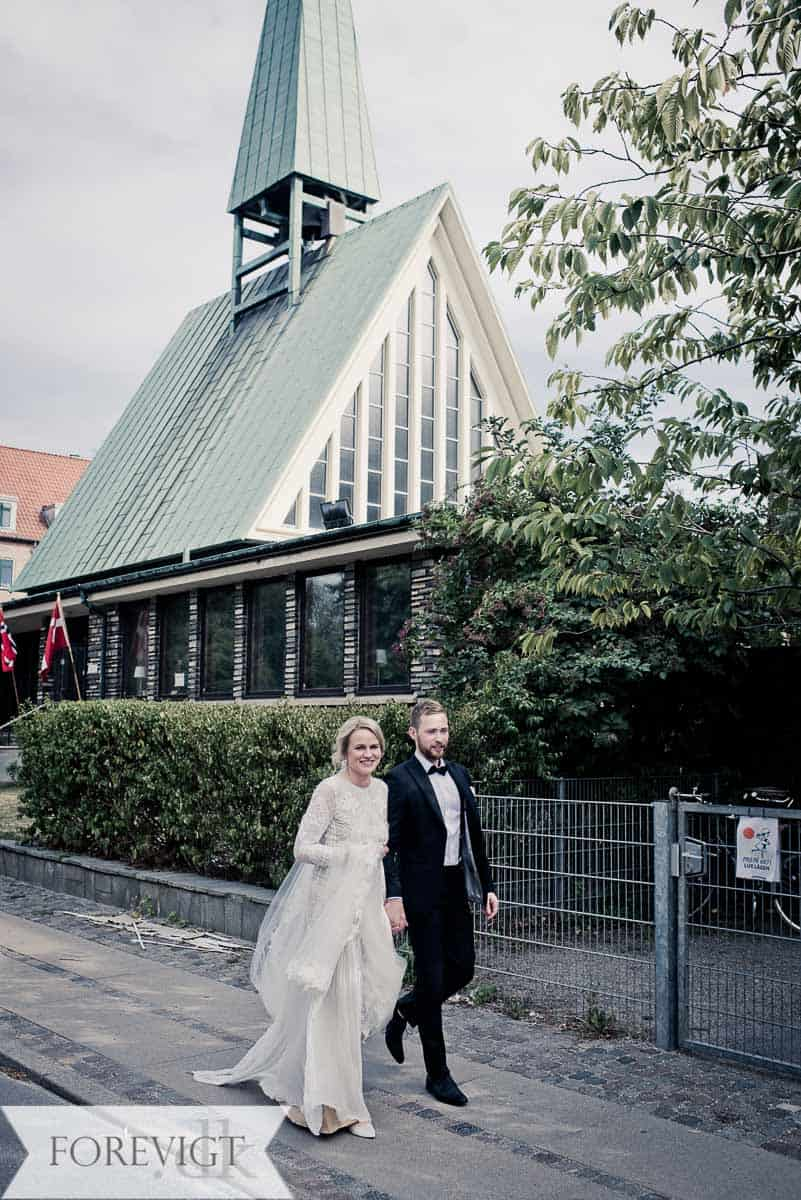 bryllup ved Sjømannskirken