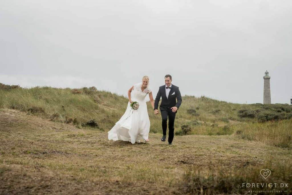 giftelystne svenske brudepar
