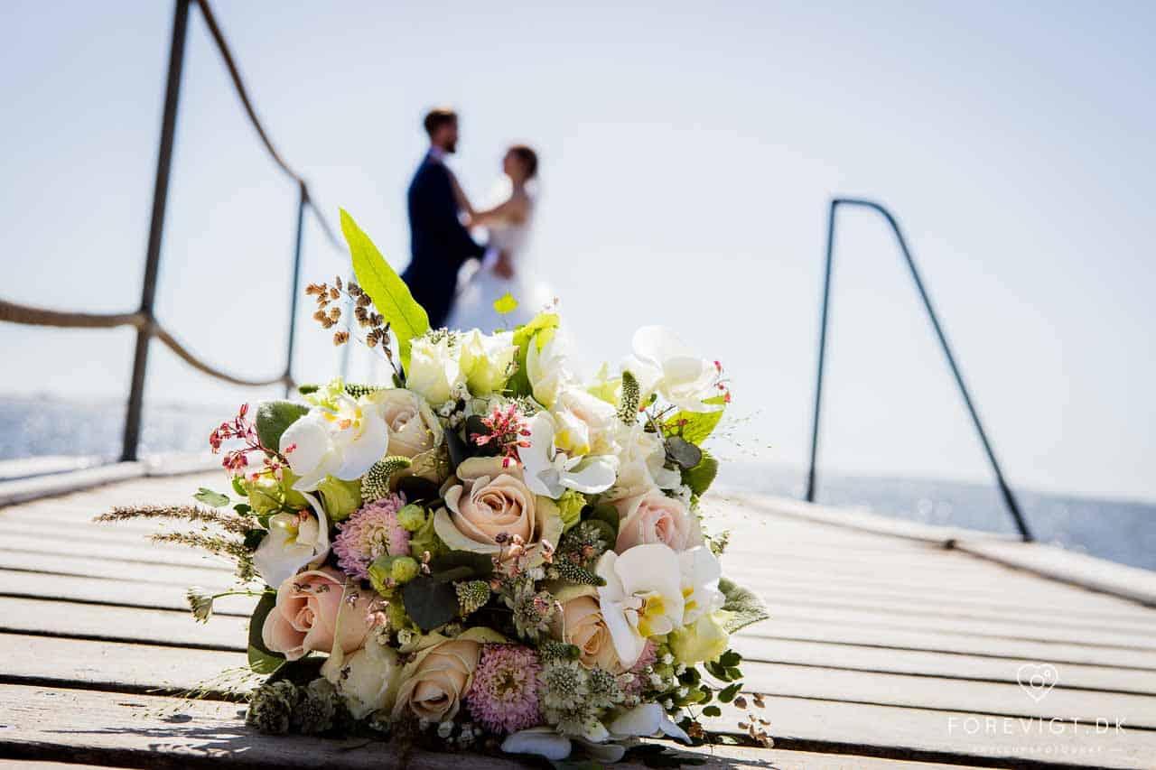 bryllupsfotograf i Hjerting