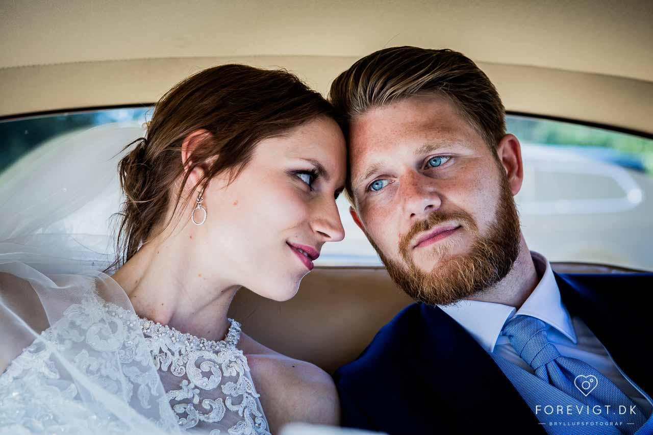 bryllupsbilleder i Hjerting