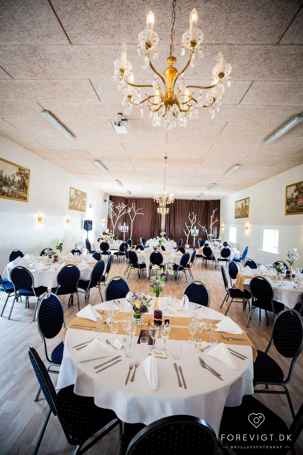 bryllupsfest på Gørdinglund