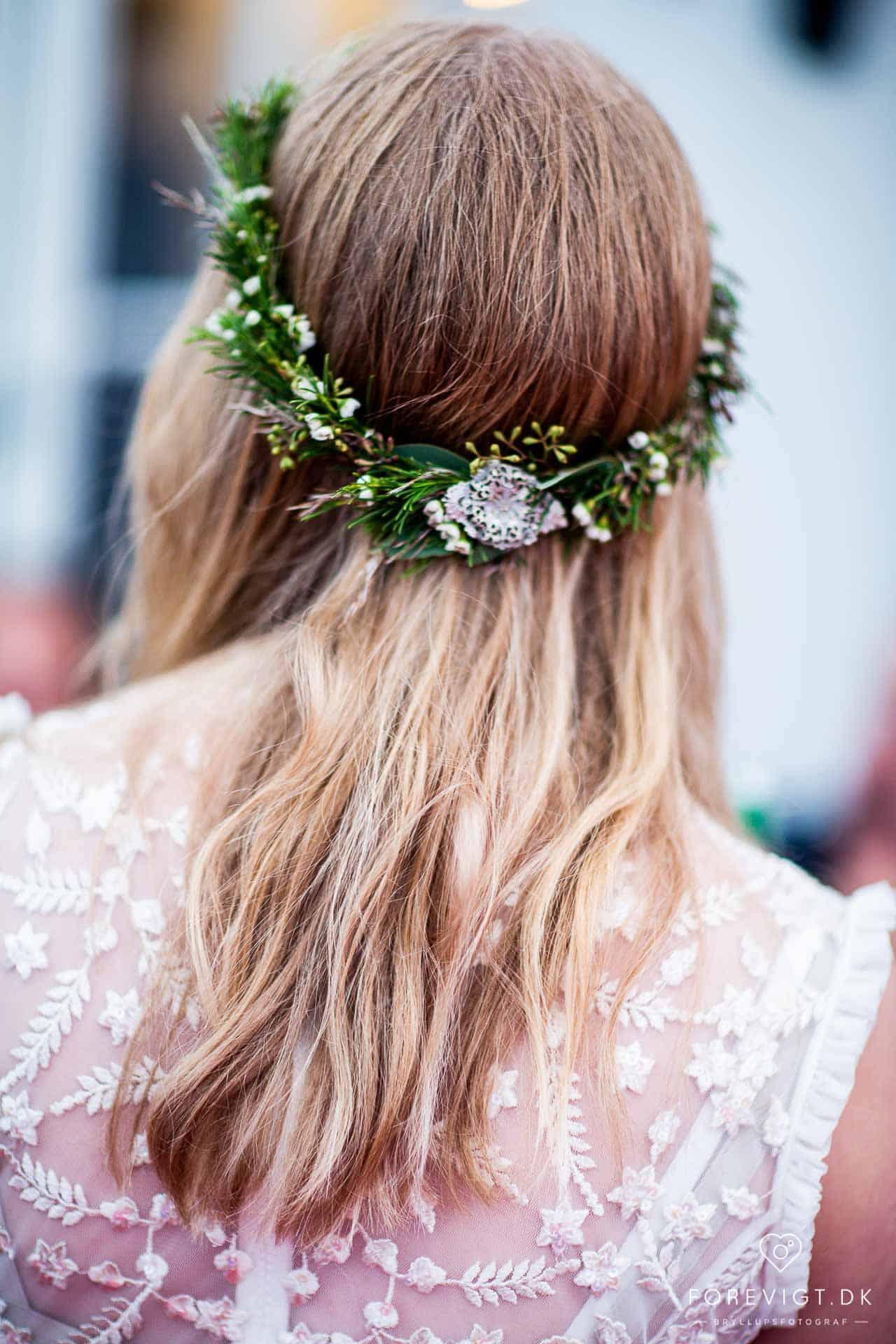 Neder Kjærsholm - Bryllupsforberedelser