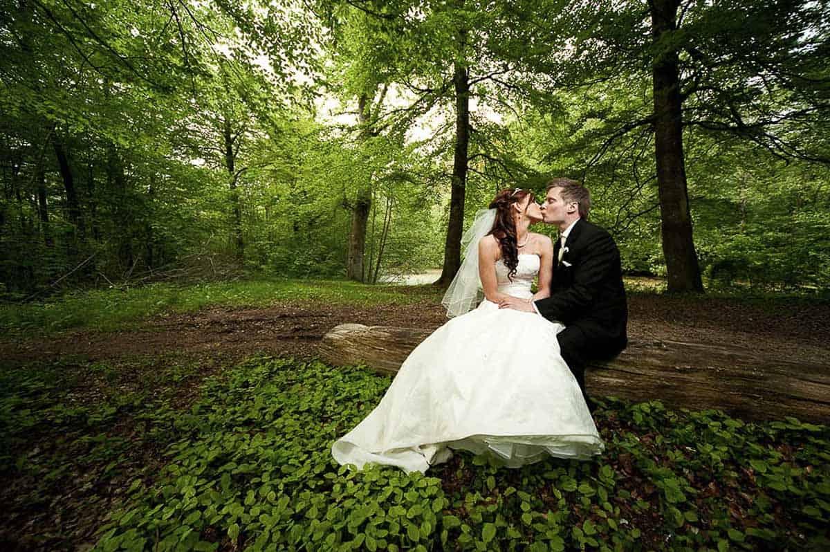 Professionel bryllupsfotograf i Dronninglund