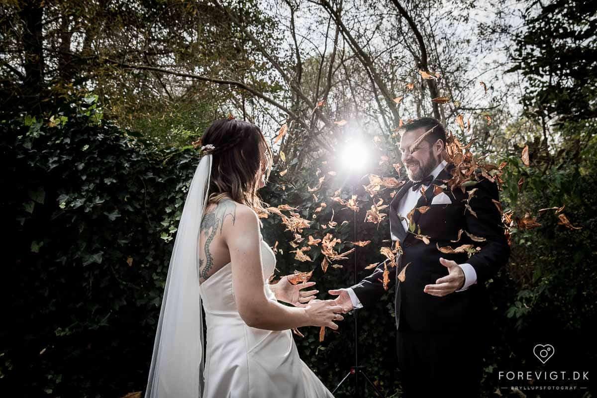 bryllupsfoto af Pernille og Mark