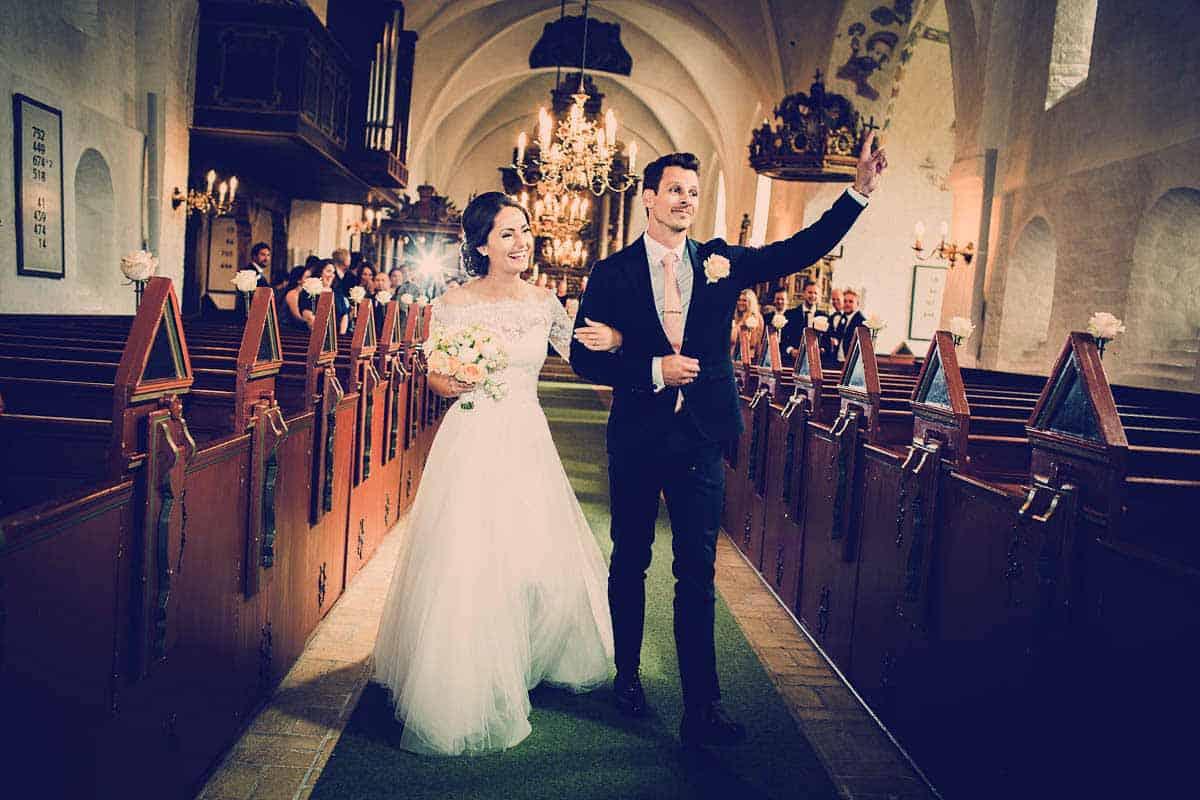 bryllup i kirke Bjerringbro