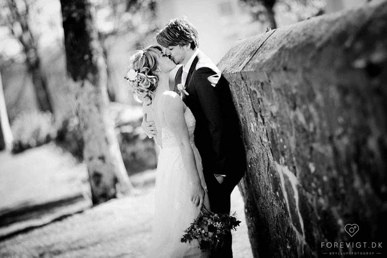 Fotografering af brudepar