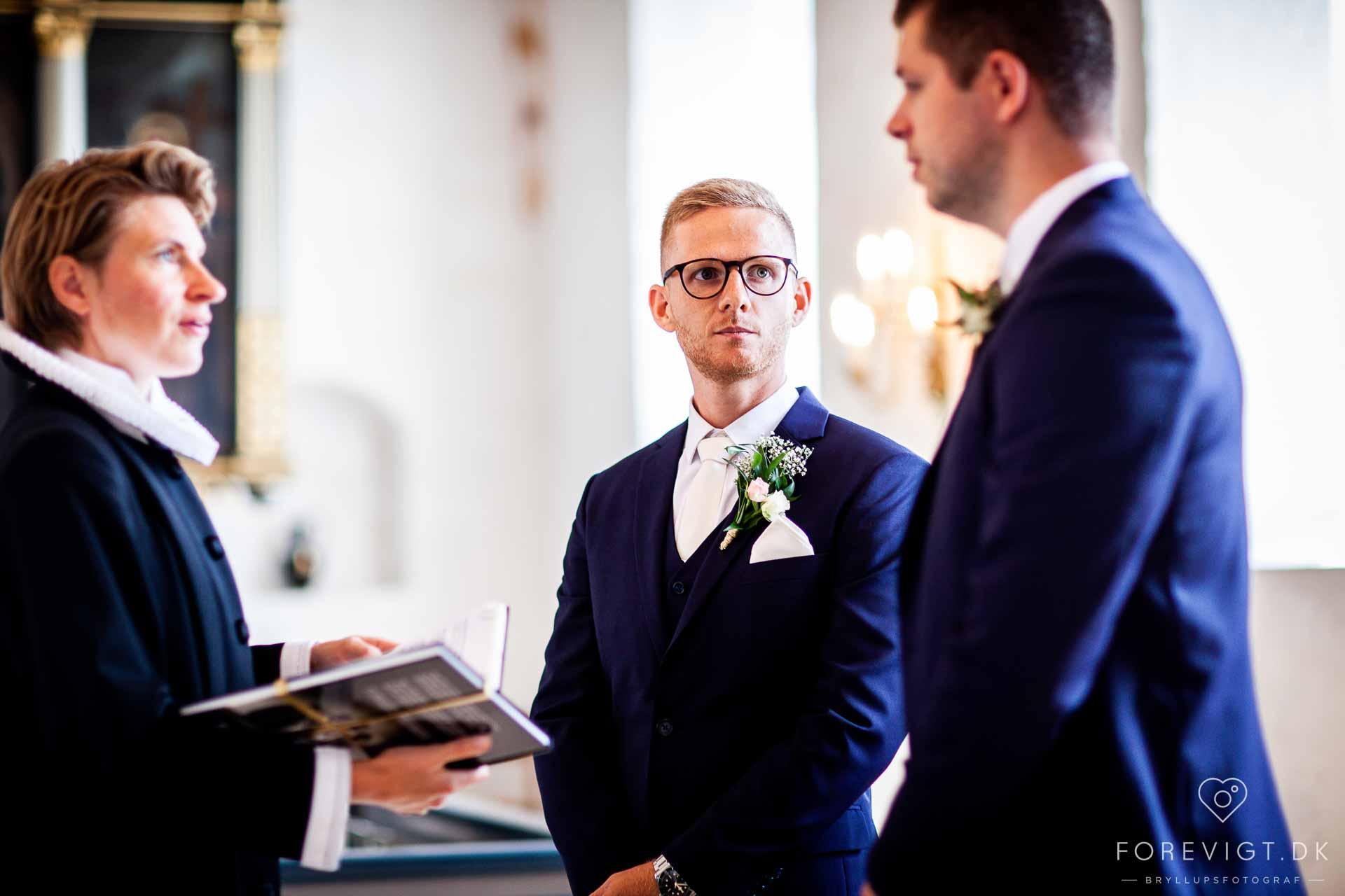 Smukke og unikke feststeder på Fyn til bryllupsfest.