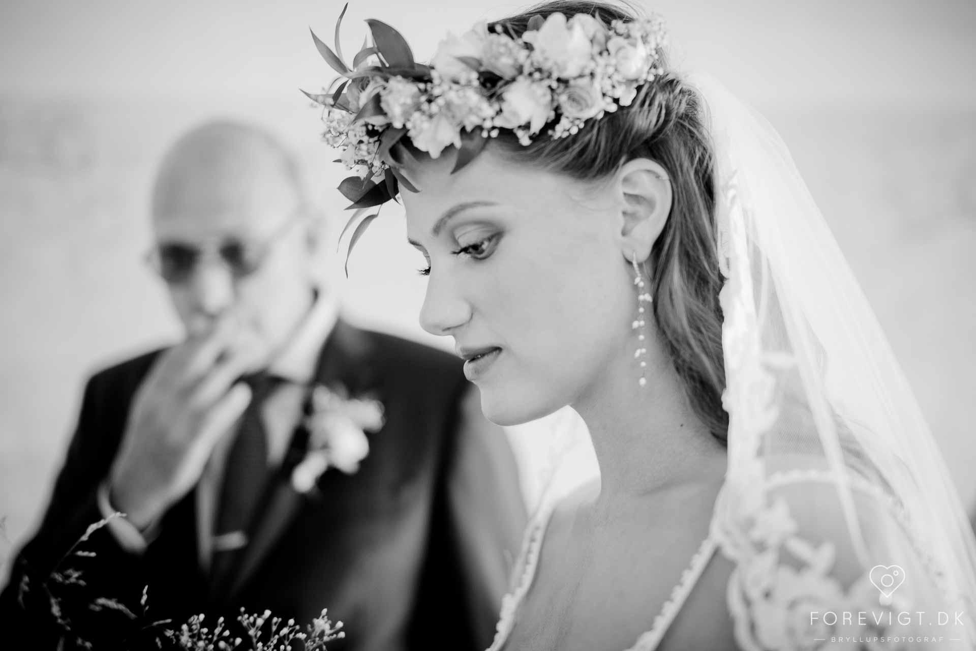 stort bryllup Fyn