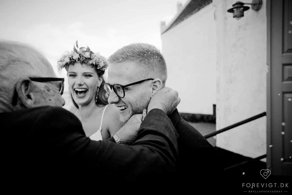 Bryllup på Fyn - Kreative bryllupsbilleder