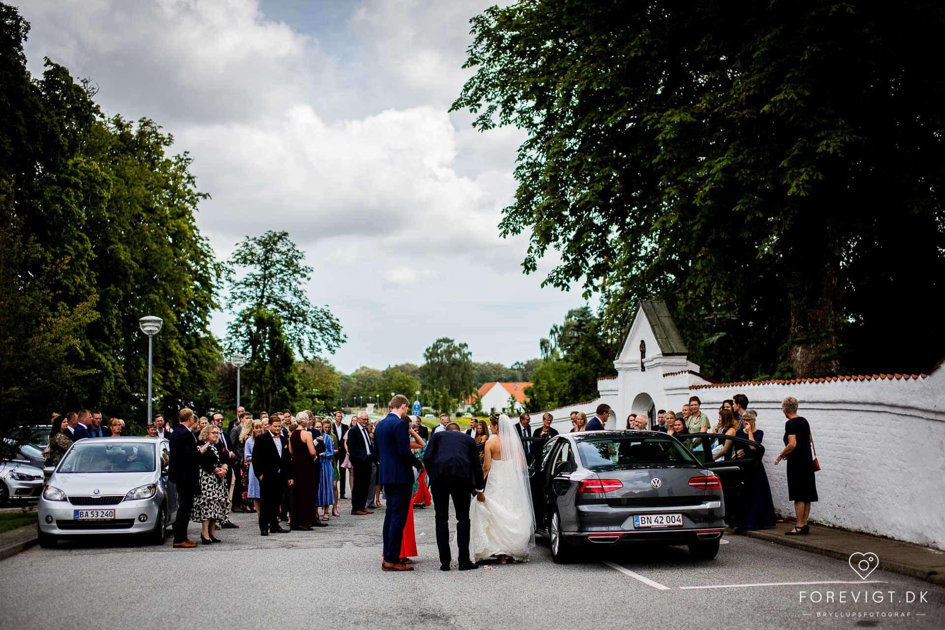 Dronninglund Slotskirke bryllup