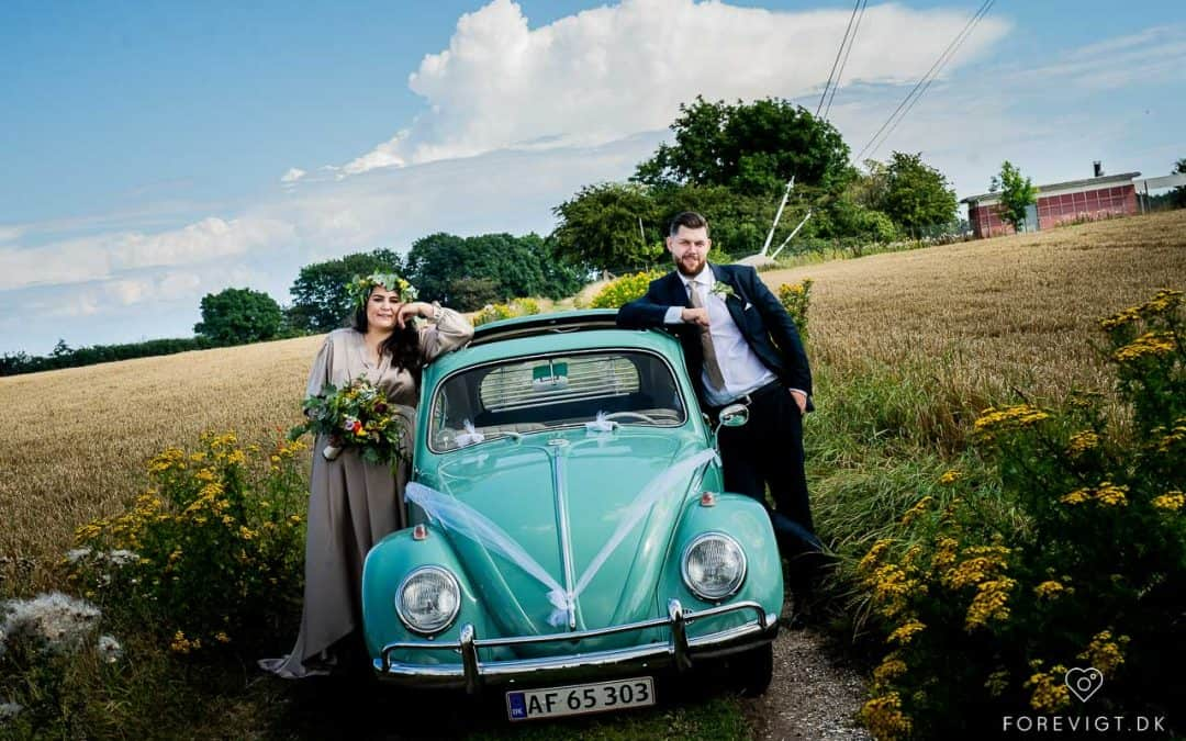 Stevns klint bryllup