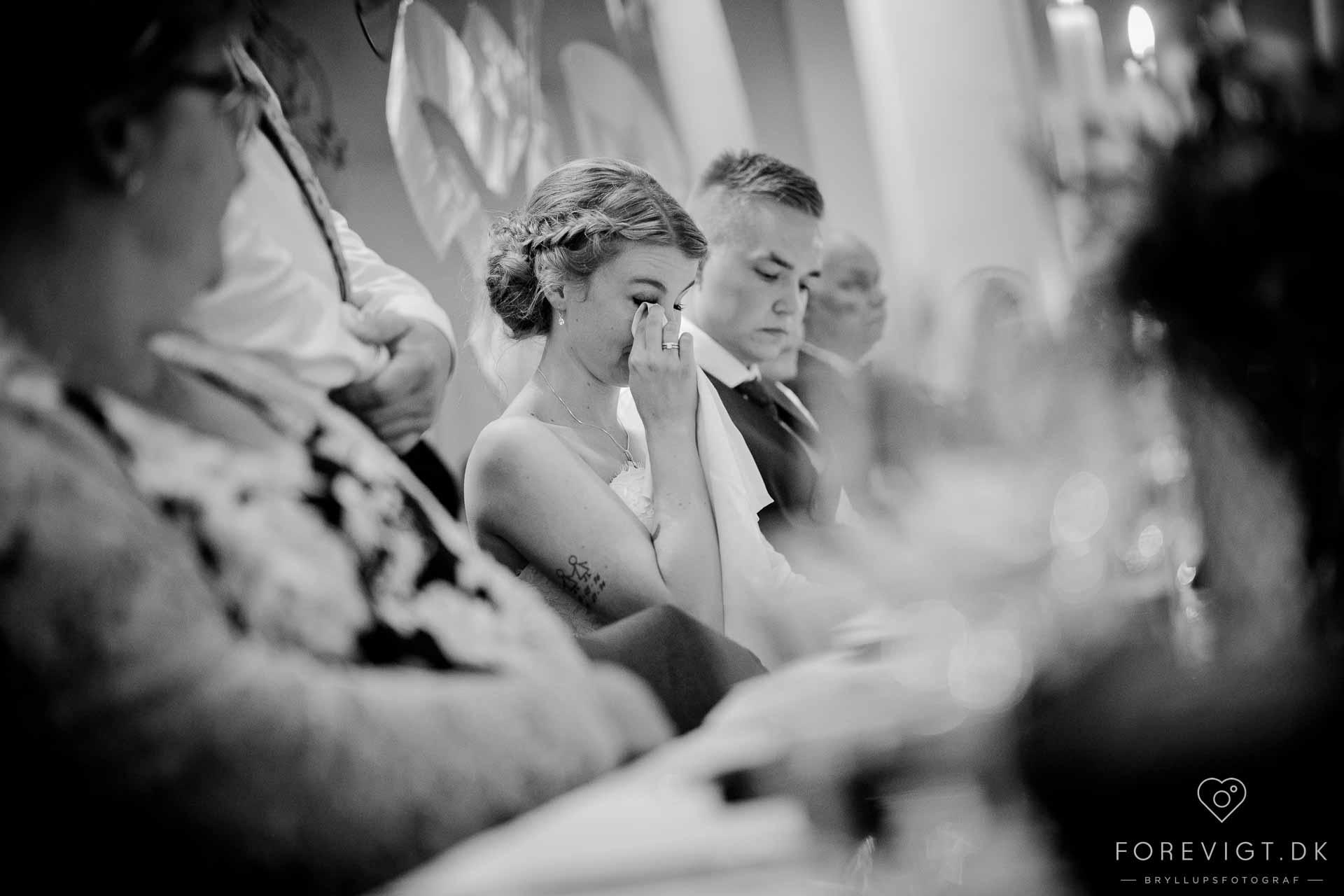 Fotograf med kant. Bryllup