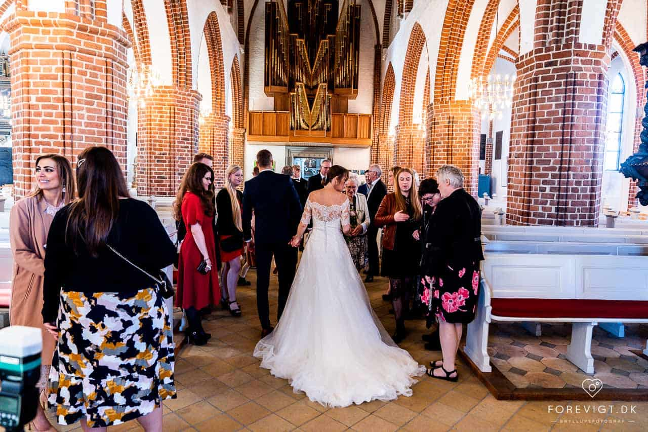 bryllupsfotograf pris jylland