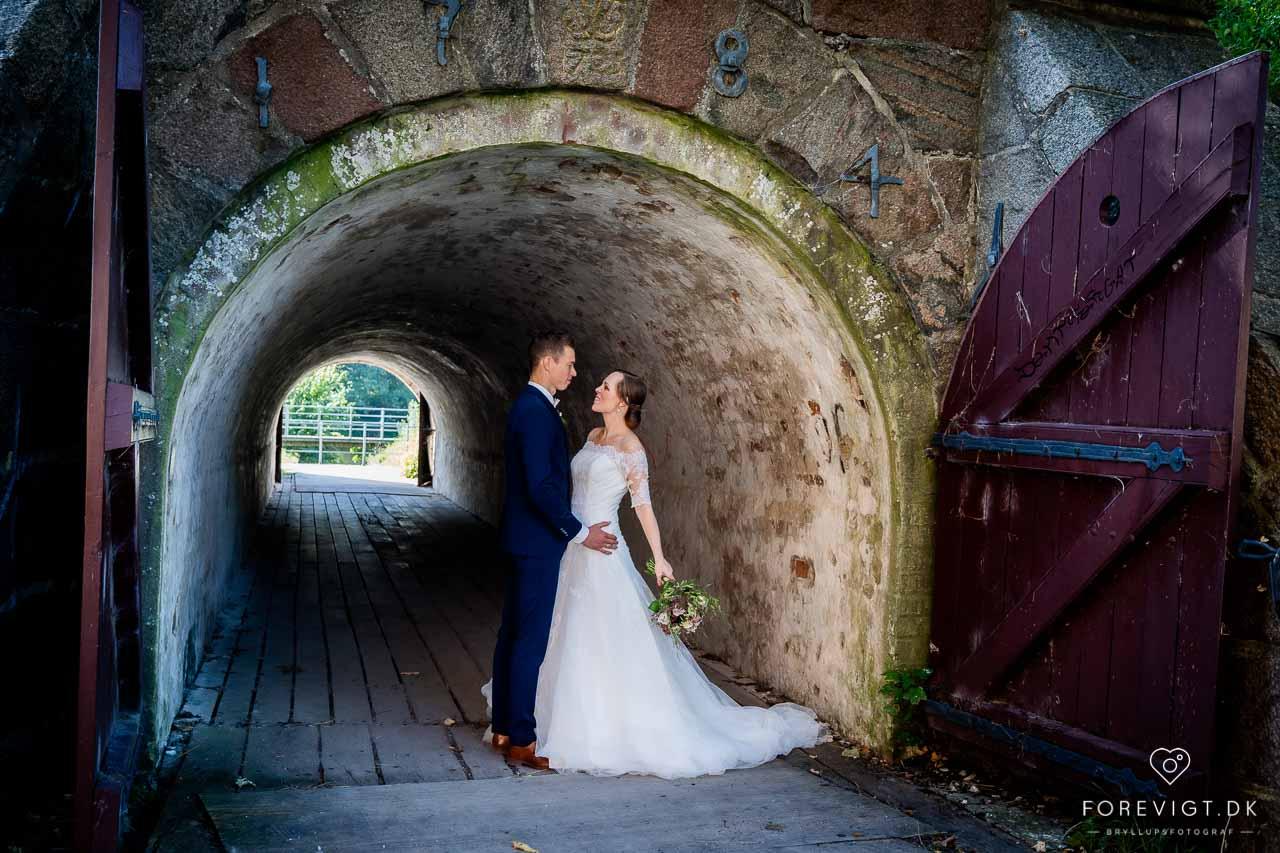 romantisk bryllup på fyn