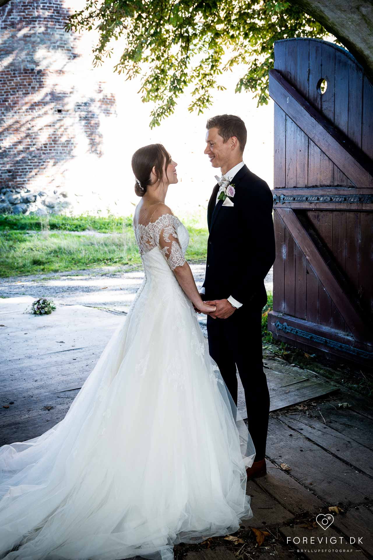 bryllup pakkeløsning