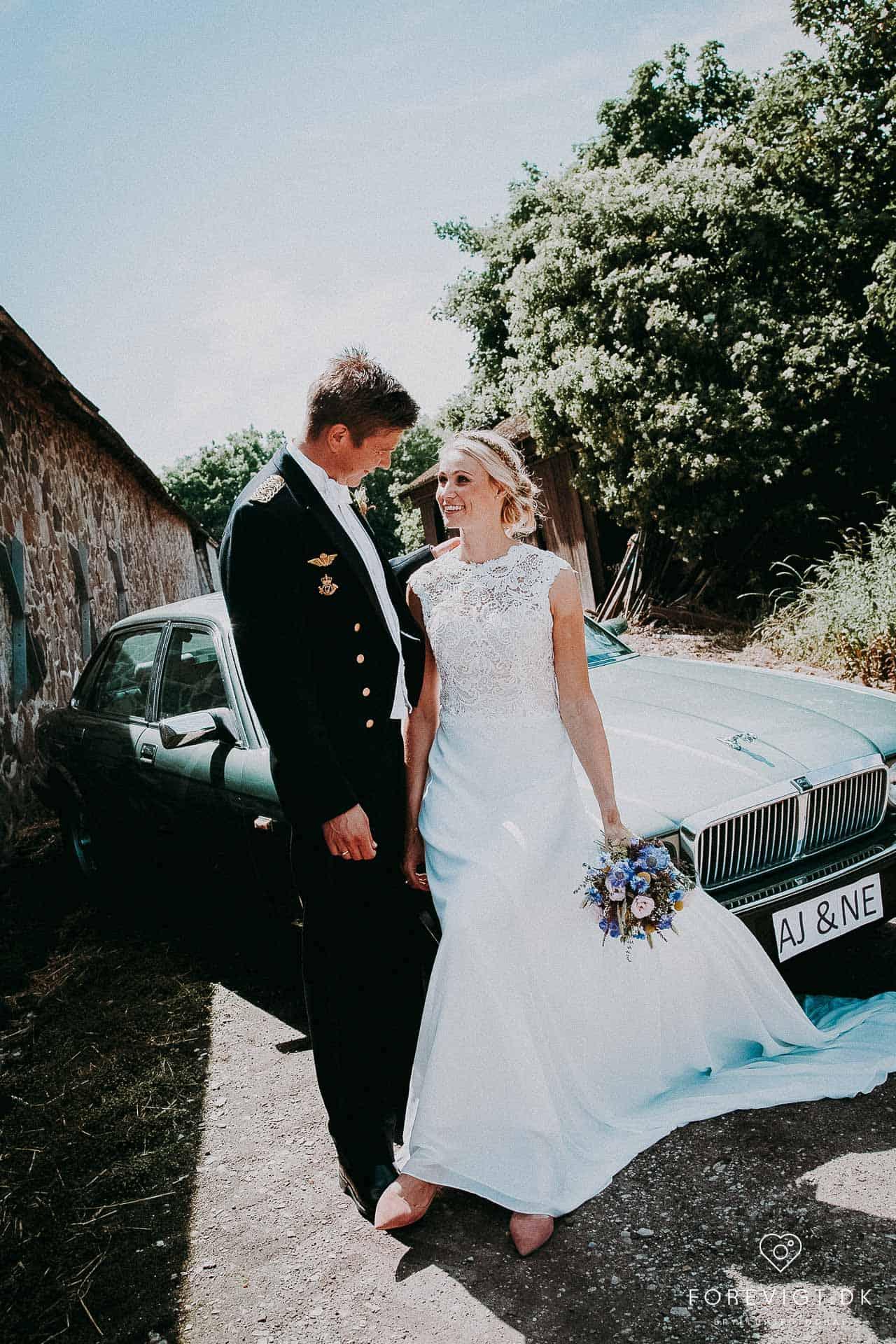Brøndum Kirke brylluppet