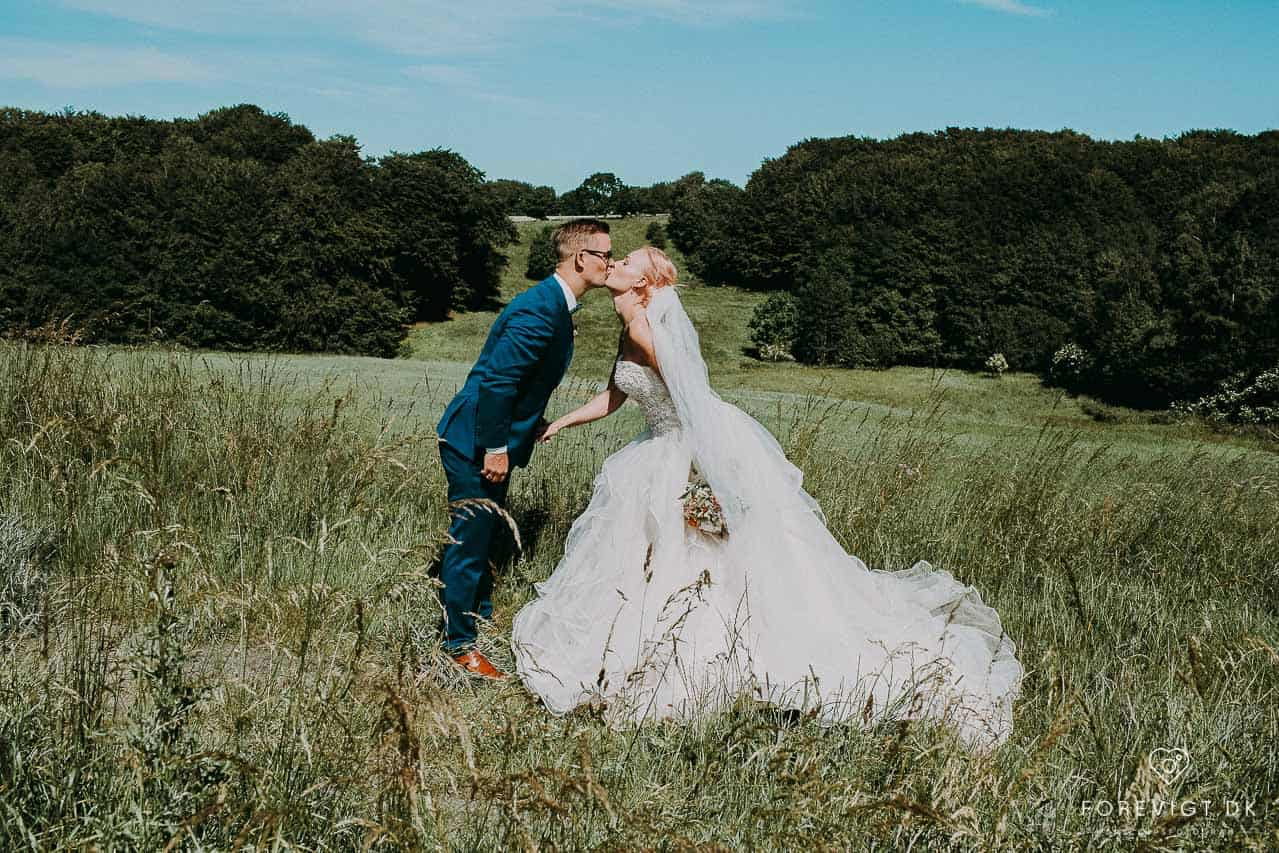 Knivholt hovedgaard bryllupsfoto