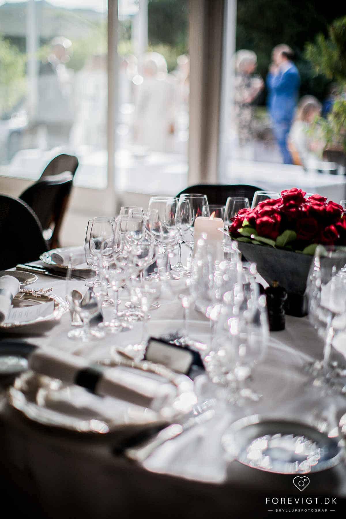bryllupsfest på Josty på Frederiksberg