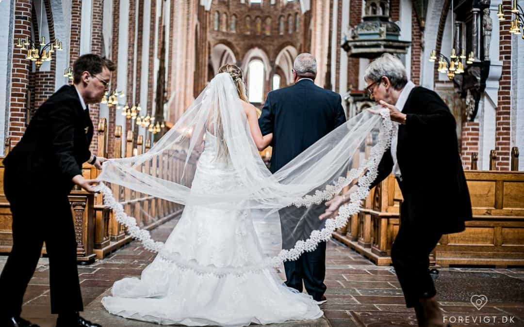 Bryllup i Roskilde Centrum