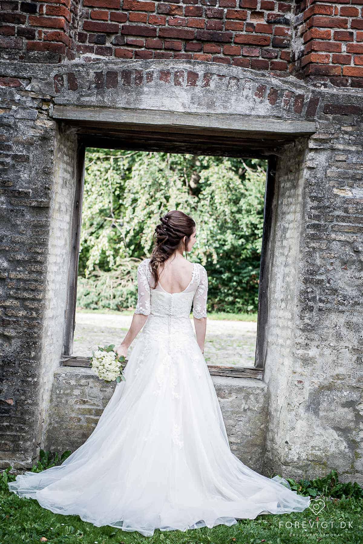 Bagsværd sø bryllupsfoto