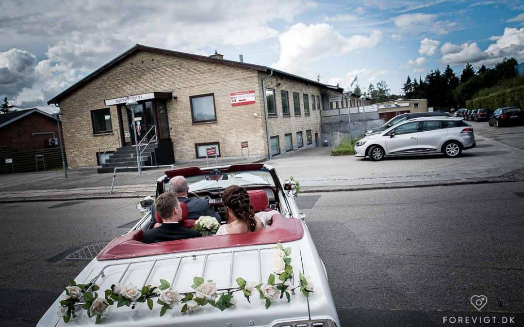 Herstedøsters forsamlingshus bryllup