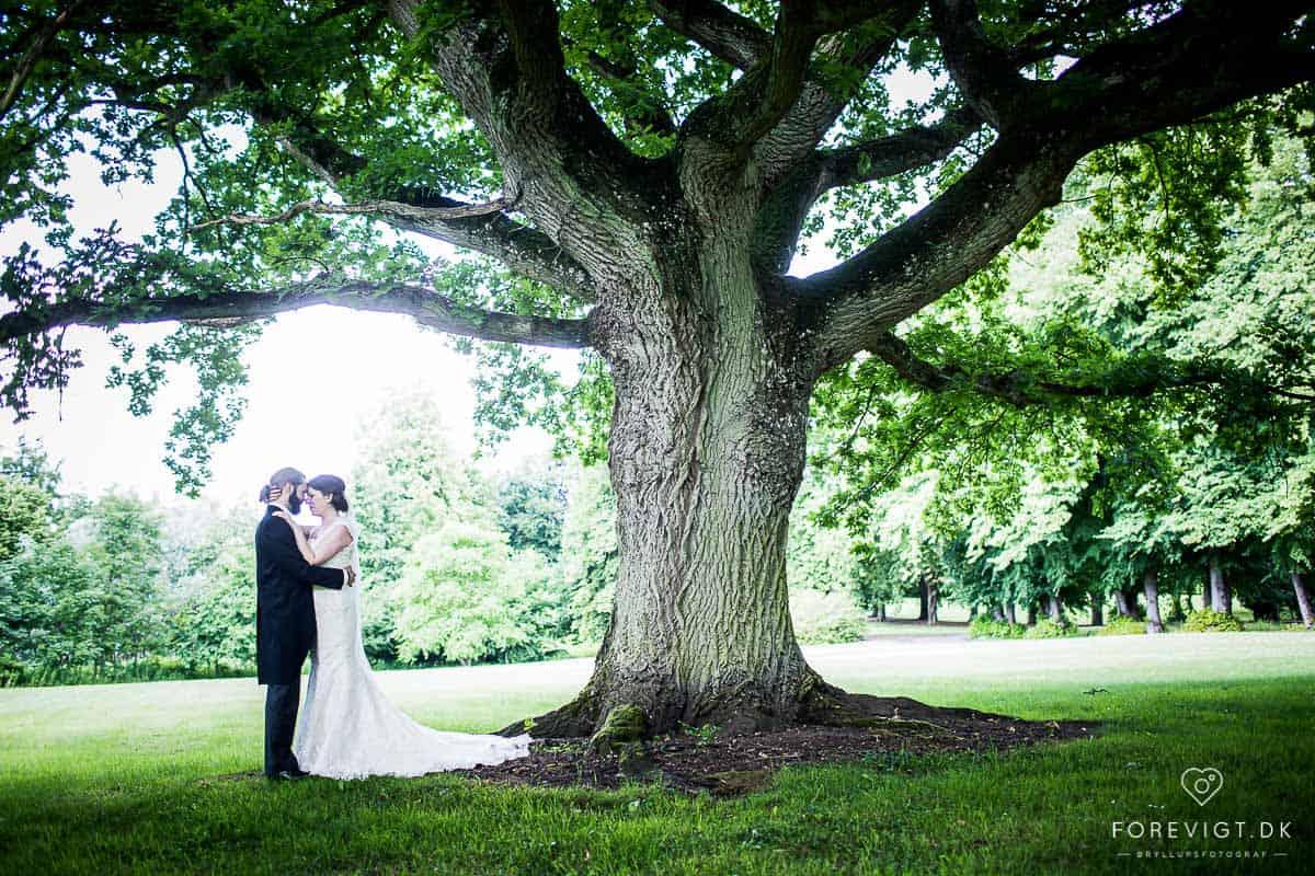 Billeder af Holckenhavn Slot bryllup