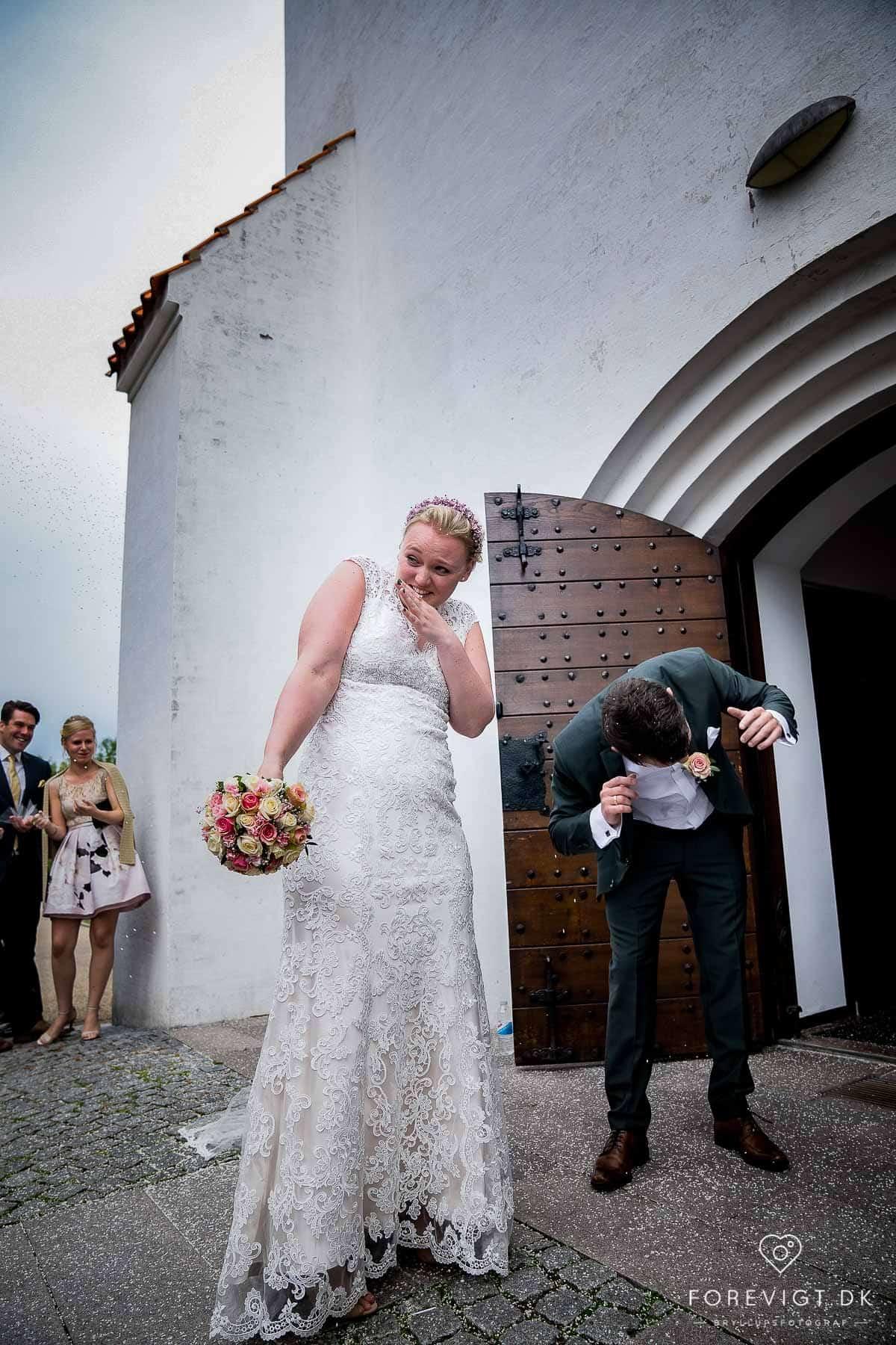 Bryllupsfest ved Vejle i naturskønne omgivelser