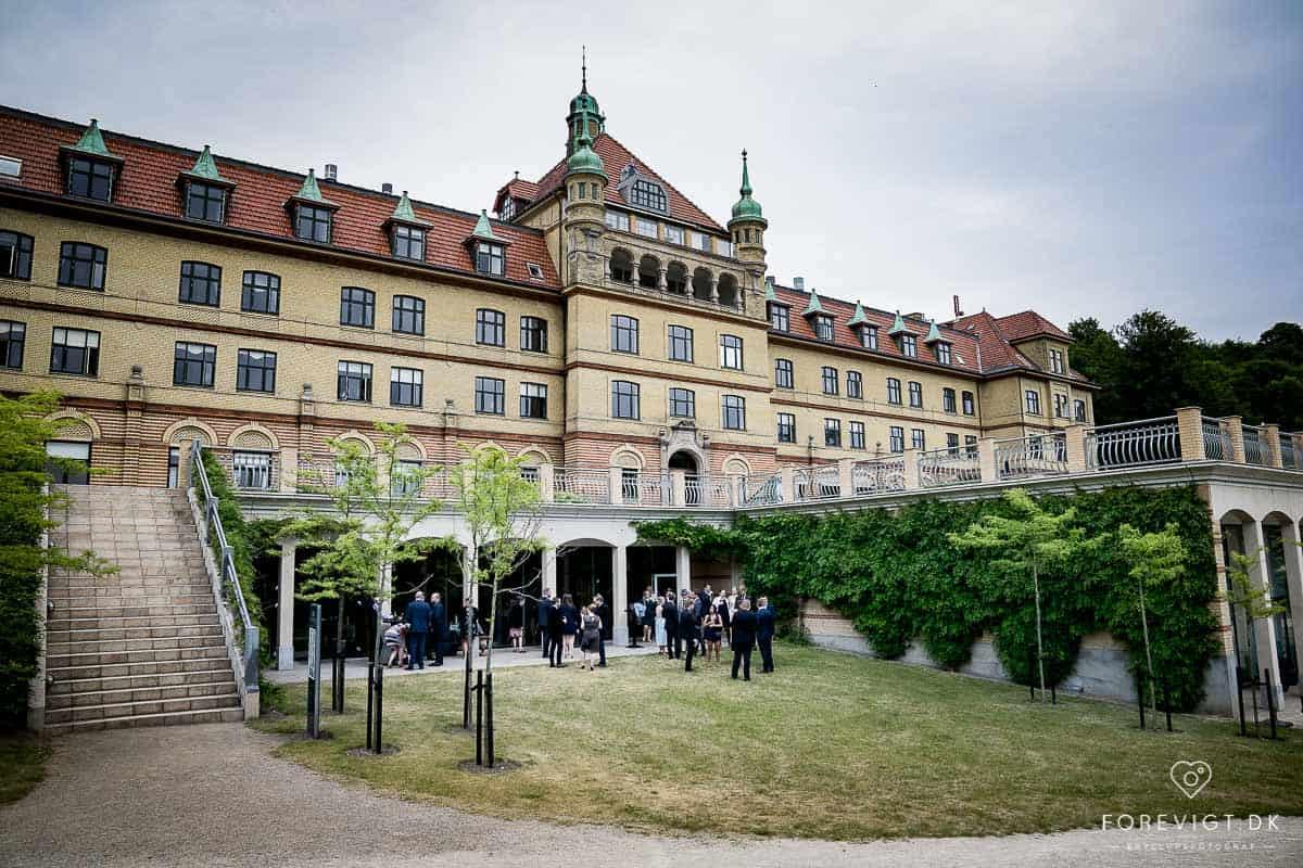 Flere billeder af bryllup hotel vejlefjord