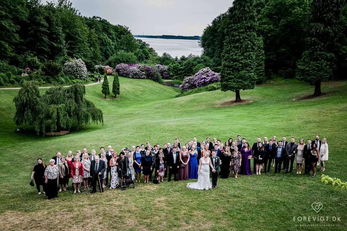 Bryllupsbilleder ved fjorden