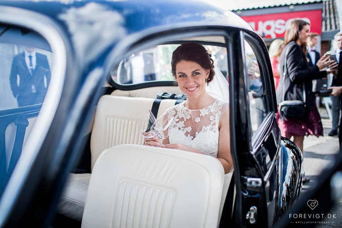 Flere billeder af molskroen bryllup