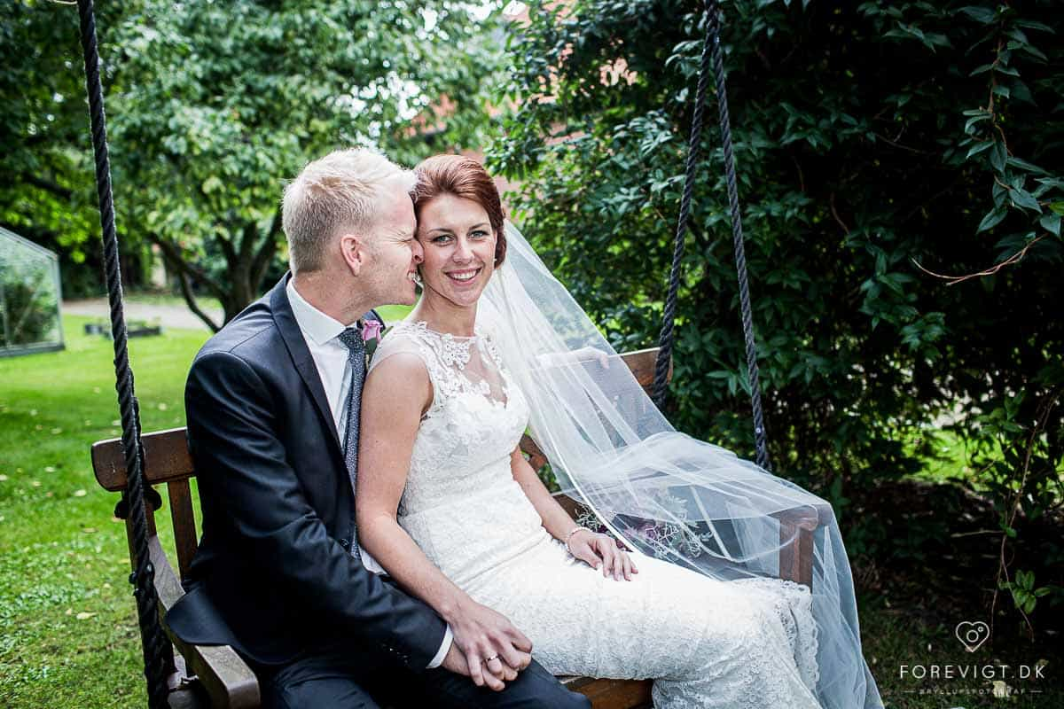 Bryllupsfotograf djursland Ebeltoft