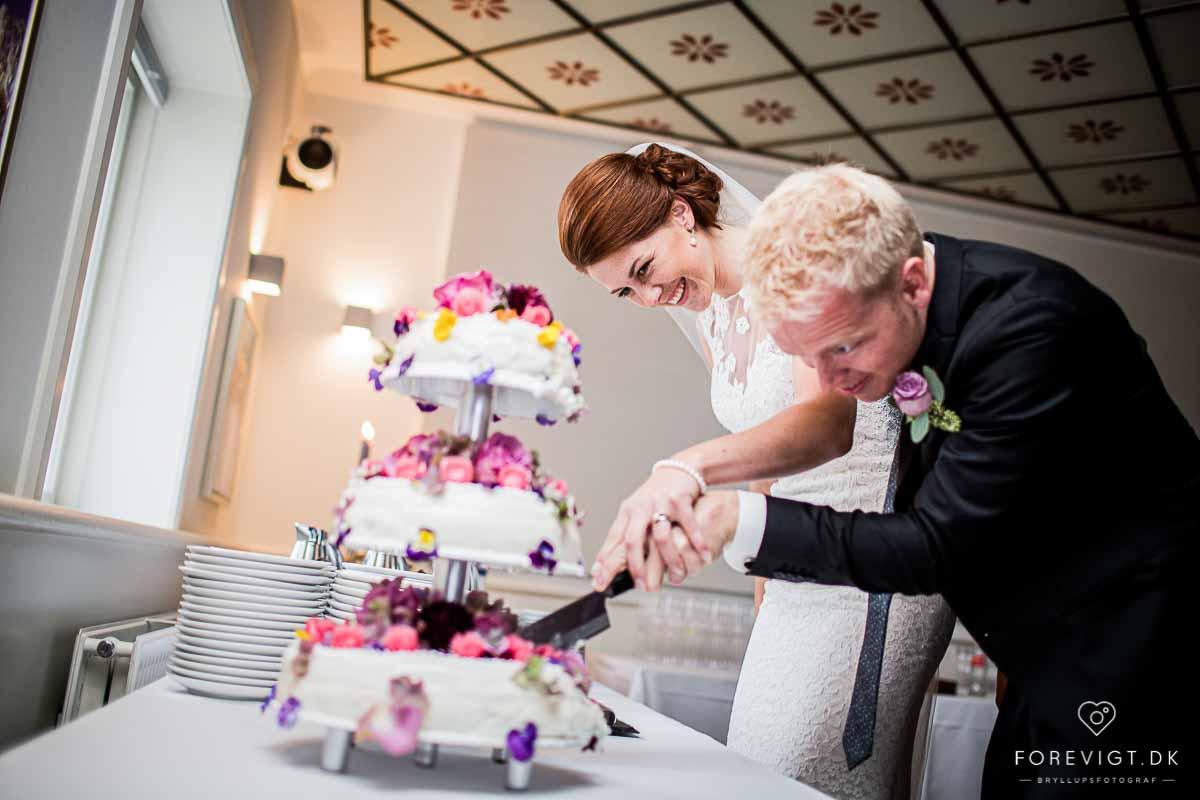 Fotograf til bryllup i Østjylland