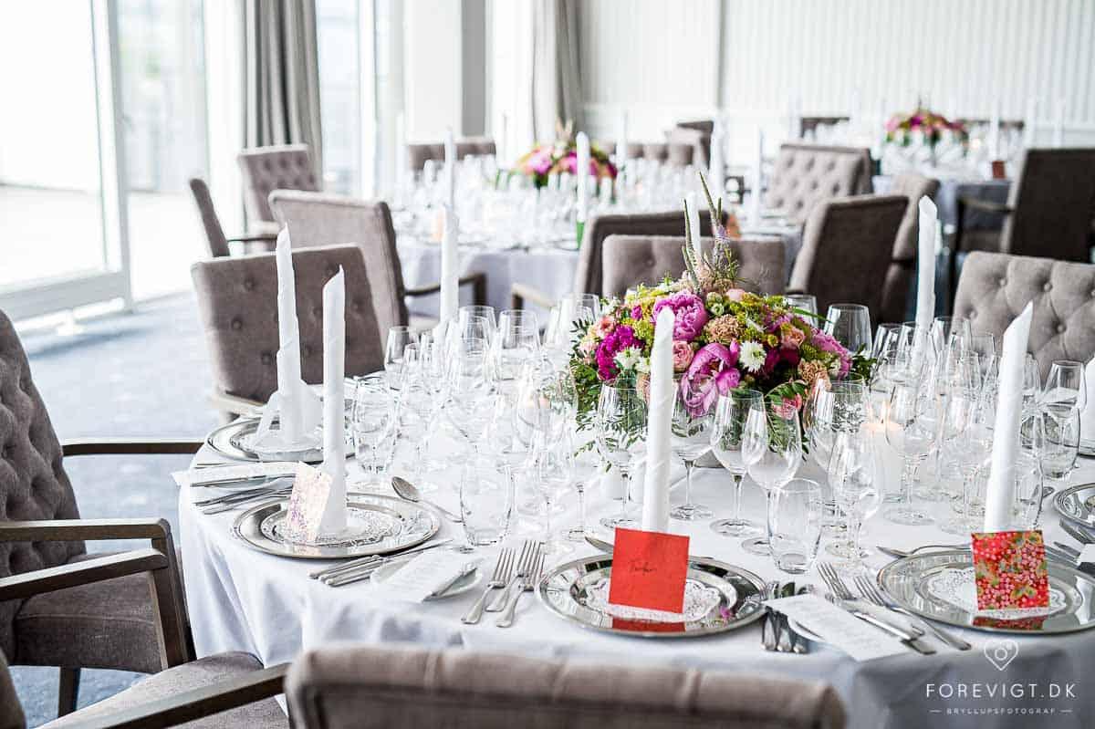 Bryllupsfest på Hotel Marienlyst